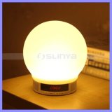 Diodo emissor de luz sem fio Lamp Speaker de Bluetooth Handfree com Book Sleeping Alarm Clock
