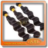 Prolongation 2015 normale de cheveux humains de cheveux péruviens de Remy de Vierge
