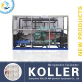 Стабилизированное Capacity 5tons Ice Cube Maker с PLC Program Control&Packing System (CV5000)