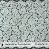 ナイロン綿のまつげの服のレースファブリック(M2178-MG)