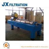 Le centrifughe del decantatore separano i solidi dai liquidi