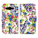iPhone аргументы за PU Leather Beauiful Durable Floral