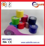 2017 Nouveau produit Chine Factory Logo Imprimer Sport Muscle Therapy Kinesio Tape