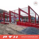 Costruzione industriale prefabbricata della struttura d'acciaio come il workshop/magazzino
