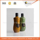 Escritura de la etiqueta modificada para requisitos particulares de la botella del alcohol de la fábrica del diseño