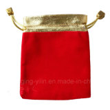 Оптовое Drawstring Luxury Velvet Pouch с Bead
