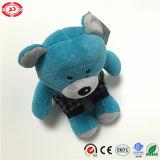 서스펜더 귀여운 아이 장난감 곰 장난감을%s 가진 파란 곰