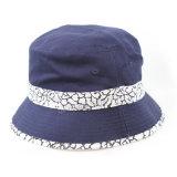 Chapéus feitos sob encomenda por atacado da cubeta do algodão da qualidade superior (A368)