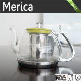 2016 отклоняя чайников Borosilicated продуктов, стеклянный чайник, чай Infuser