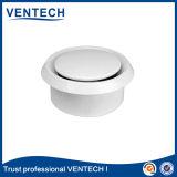 HVACシステムのための白いカラー金属ディスク弁の空気拡散器