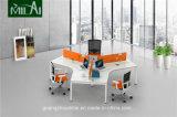 Heiße Verkaufs-Querkonstruktionsbüro-Arbeitsplatz in drei Seater