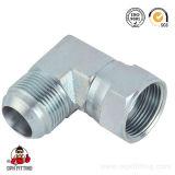 Capezzolo idraulico maschio e femminile della macchina del montaggio di tubo flessibile del gomito 2j9