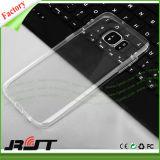 Cassa trasparente del telefono mobile di TPU per la galassia S7 di Samsung