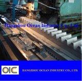 Estante de engranaje de acero para la maquinaria de construcción
