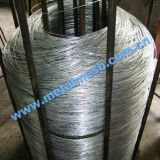 電流を通されたIron WireかElectric Galvanized Wire