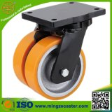 Extra Heavy Duty Caster Twin Wheels Castor