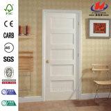 大きいサイズ5のパネルの珍しい平板の木のドア