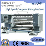 プラスチックフィルム(WFQ-F)のための高速コンピュータのスリッター