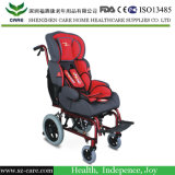 スペース子供の車椅子の傾き
