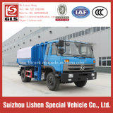 Кран Bucket Garbage Truck Dongfeng 4*2 190HP New Power Wheel Garbage Truck Refuse Truck