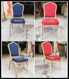 Популярный оптовый штабелируя причудливый алюминиевый стул банкета для сбывания