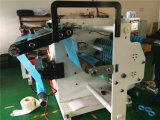 Máquina de Rweinder de la cortadora de la cinta de la cara del gancho de leva del pañal Hjy-Fq03