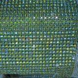 24 de Decoratie van het Huwelijk van de Omslag van het Kristal van het Bergkristal van het Broodje van het Netwerk van de Diamant van de rij