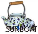 エナメルの毎日の使用水鍋のティーポット