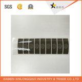 Etiqueta autoadesiva de papel impressa impressão do cristal do vinil da parede da etiqueta