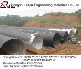 Труба оптового горячего сбывания Китая Corrugated стальная