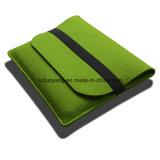 Les sacs de transporteur fabriqués à la main d'iPad de feutre complètent dans les caractéristiques