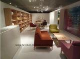 (SD-6004) Sofa en bois de tissu de loisirs de meubles de salle de séjour d'hôtel de modèle moderne