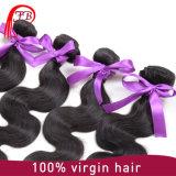 Extensão brasileira barata do cabelo da onda do corpo do cabelo humano do cabelo 100% do Virgin