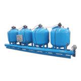 Filtro de arena automático de la filtración de puente para la agua en circulación