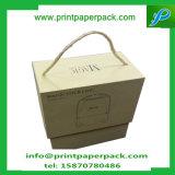 浮彫りにされた二つの部分から成ったキャンデーのギフトの荷箱の板紙箱