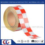 Multi Farben-Augenfälligkeit-Sicherheits-Checkered reflektierendes warnendes Band (C3500-G)