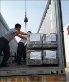 الصين ألومنيوم/ألومنيوم ذهبيّة لون قطاع جانبيّ لأنّ قطاع جانبيّ