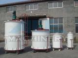 tanque de mistura sanitário do aço inoxidável do tanque do aquecimento de vapor 1000L (ACE-JBG-K7)