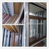 Porta de janela de alumínio de grão de madeira