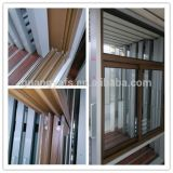 Pó de madeira Windows de alumínio revestido da grão