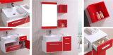 Moderner MDF-Plastik-Belüftung-Badezimmer-Schrank (B-8040)