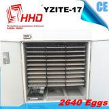 2640 Ce van eieren keurde Automatische Incubator yzite-17 van het Ei van de Kip goed