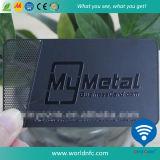 Изготовленный на заказ нержавеющая визитная карточка имени металла для управления членства