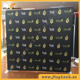 8FT Straight Fabric Portable Waveline Display Banner Exhibition Stand