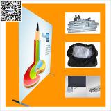 8FT Forme droite Tension Affichage Tissu Backdrop Support pour exposition