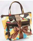 3 части Fashion Ladies Travel Cosmetic Packing Bag с Pouch и Bow