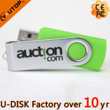 1/2/4/8/16/32/64/128GB 최신 판매 회전대 USB 섬광 드라이브 (YT-1201L)
