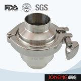 Tipo válvula no de vuelta de la transformación de los alimentos (JN-NRV2002) de la abrazadera inoxidable del acero