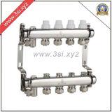 Agua Segregator de la calefacción de suelo de la calidad con el calibrador (YZF-M807)