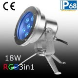 18W Epistar LED subacuática Pool Spot Light (JP95562)